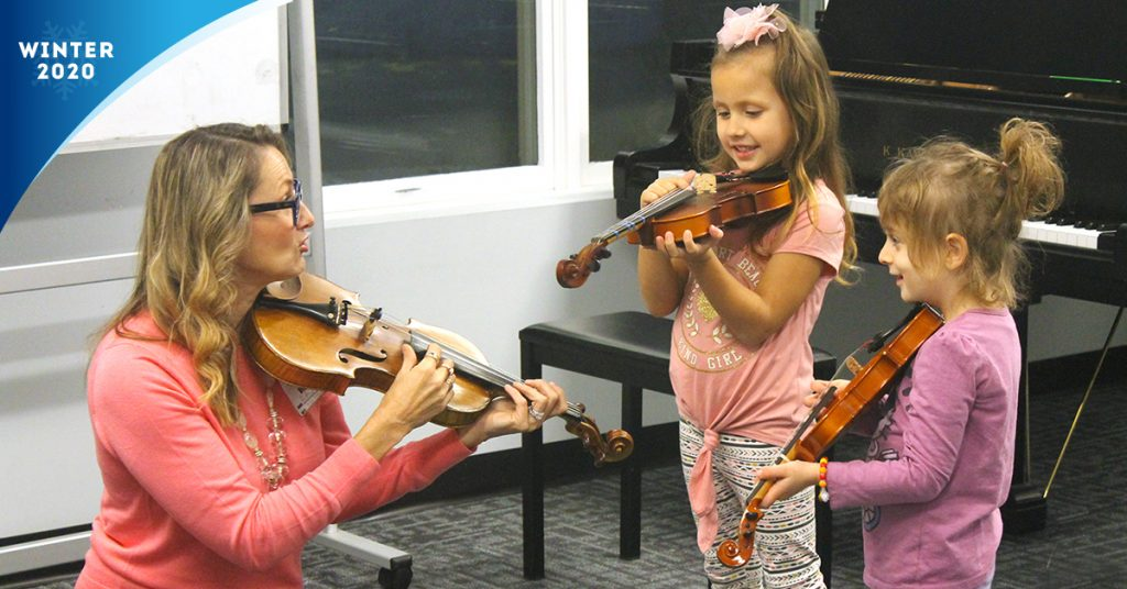 Little Mozart Group Violin Program