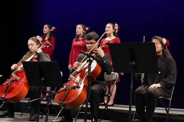"Basie Center Academy, Music Conservatory Students Come Together For News 12's ""Sounds Of The Season"" Broadcast"