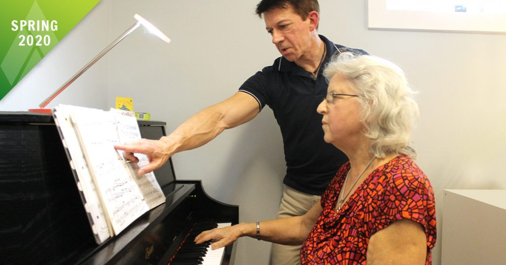 New! Adult Group Piano