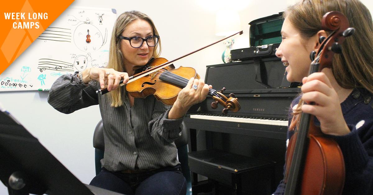 Summer: Finger Builder For Violins!