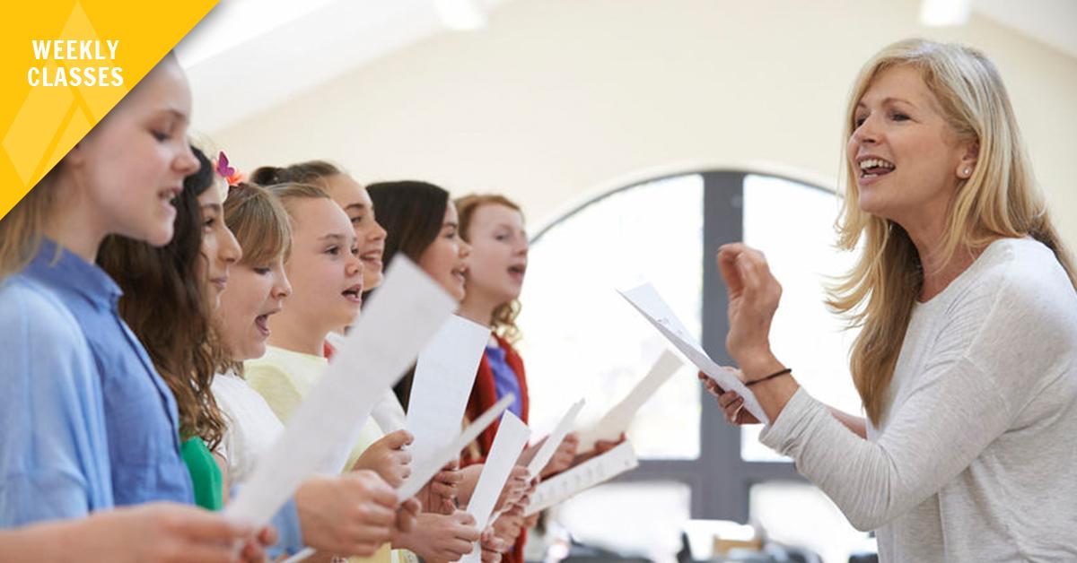 Summer: Virtual Intro To Singing