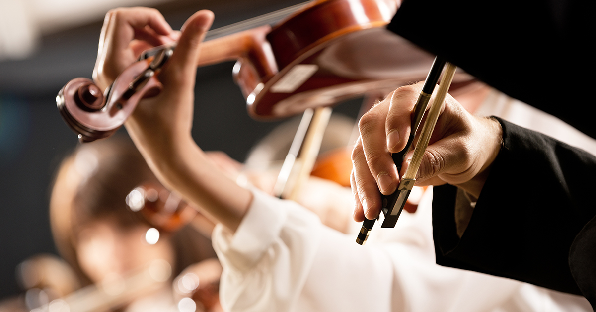Winter: Private Orchestral Instruments Lessons